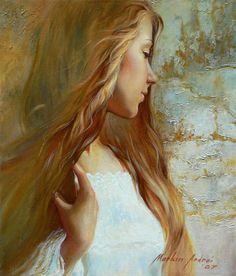 Portrait Paintings by Andrei Markin