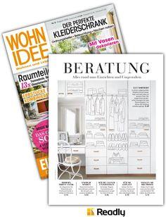 Vorschlag zu WOHNIDEE NR.08 2016 Seite 67 Office Supplies, Bullet Journal, Vase Ideas, Home And Living, Magazines, Decorating