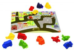Aprender y hacer las matemáticas más  divertidas con juguetes educativos