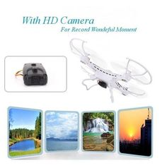 JJRC H8C Drone 2.4G 4CH 6 Axis RC Quadcopter 2MP Camera RTF Gyro Aircraft #JJRC