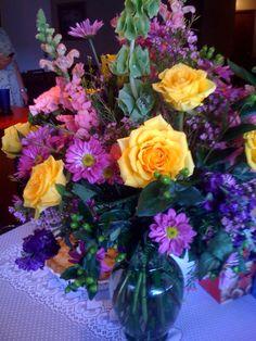 Mom's birthday flowers from Jewel box - breath taking
