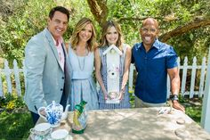 """Actress Maggie Lawson from Hallmark Channel original movie """"My Favorite Wedding""""; Food Network's Audrey Dunham (""""Incredible Edible America with the Dunhams"""") makes falafel waffles with tahini sauce; comedian and magician Joel Ward; Julie Steines and Norbert the Dog visit our home; Dan is breaking down the science of instant ice cream."""