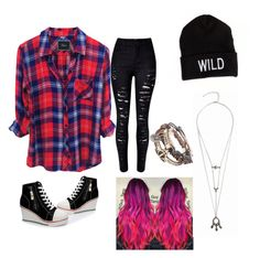 """""""hipister dreams"""" by erikacompton on Polyvore featuring WithChic and American Eagle Outfitters"""