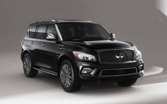 Full-size SUV is not only providing a surge of luxury, but at the same exterior design is different. 2017 Infiniti qx80 length width 5.305 x 2.030 x 1.945 meters high. Small light alloys and super-large hood makes retro. Obviously not everyone's taste. But that's how Infiniti to make it look unique and different. Plus posture extra