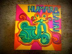 Hamara Bajaj Tea Table Tea Tables, Colourful Art, Quirky Art, Funny Posters, Truck Art, Wall Plates, Indian Art Paintings, Art School, Easy Drawings