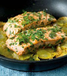 Lachs mit Knusperkartoffeln - Schnelle und gesunde Rezepte mit Fisch - 8 - [ESSEN & TRINKEN]