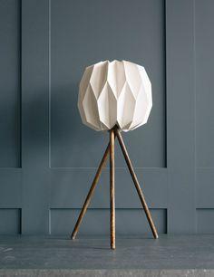 Tall Tripod Lamp at Rose & Grey