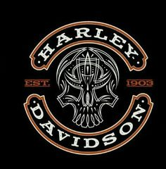 Harley Davidson Signs, Harley Davidson Wallpaper, Harley Davidson T Shirts, Harley Davidson Motorcycles, Earth Logo, Biker Tattoos, Motorcycle Logo, Day Of The Dead Skull, Old Logo