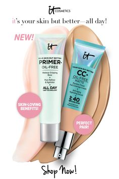 Your Skin But Better Makeup Primer is your oil-free, makeup-gripping base that hydrates your skin while extending the wear of your makeup. With contin. Paraben Free Makeup, Cruelty Free Makeup, Best Makeup Primer, Best Makeup Products, Beauty Products, Beauty Hacks Nails, Beauty Tips, Beauty Skin, Beauty Makeup