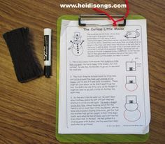 A Draw and Tell Story!   Heidi Songs