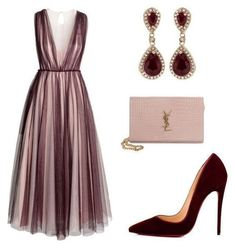 M, christian louboutin, yves saint laurent and effy jewelry chic outfits, d Classy Outfits, Chic Outfits, Dress Outfits, Fashion Dresses, Emo Outfits, Pretty Dresses, Beautiful Dresses, Looks Party, Look Fashion