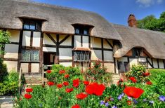 Home of Weird Pictures, Strange Facts, Bizarre News and Odd Stuff Cottages England, House Of Beauty, Thatched Roof, Seaside Resort, English House, Mountain Homes, Weird Pictures, Fairy Land, World Heritage Sites