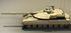 Concept and predicted characteristics of the new Russian Armata MBT.