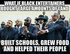 """these so called """"black leaders"""" are just a bunch of rich slaves Please these puppets don't have no real money because if they did they would be able to speak out of injustice of a people there afraid of losing their so called money to their slave masters the people who own all media,banks,radio,magazines,hollyweird ,social media,clothing,food,land #Wake Up"""