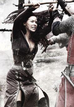 """You betray your queen, woman!"" ""I AM your queen. Warrior Girl, Fantasy Warrior, Warrior Princess, Warrior Women, Archie Comics, Camila Mendes Riverdale, Bridget Regan, Black Dagger Brotherhood, Vanessa Morgan"