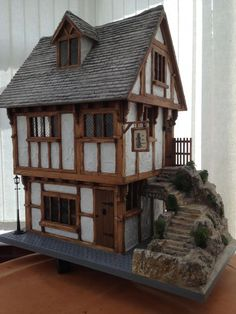 For Sale - Ye Old Bakery (The Tudor Workshop) - The Dolls House Exchange