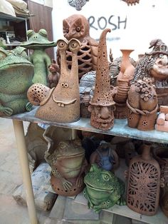 For many years, pottery has played an integral role in society, with many people collecting and making their own different variety. In some cases, ancient pottery has been sold for thousands, if no… Sculpture Projects, Ceramics Projects, Clay Projects, Clay Crafts, Raku Pottery, Pottery Sculpture, Pottery Art, Ceramic Studio, Ceramic Clay