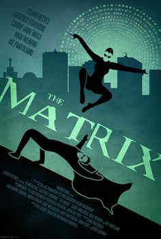 The Matrix poster by Dwayne Labuschagne