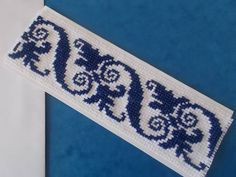 Blue or red ethno cross stitch pattern or by CamisTheCrossStitch