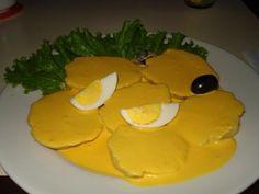 Papa a la Huancaina - Peruvian Food - Peruvian Food Recipes