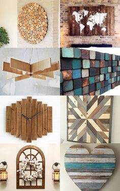 Wooden home decor by Barbara Kroll on Etsy--Pinned with TreasuryPin.com