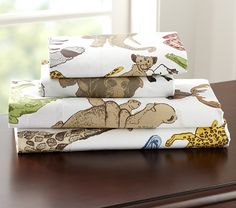 Wesley Sheeting | Pottery Barn Kids