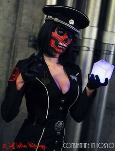 Lady Red Skull, Captain America, by Constantine in Tokyo, photo by Jeff Williams. #Rule63