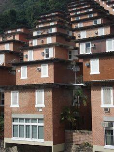 Casas unifamiliares localizadas no bairro de Botafogo.RJ.Autoria:arq.Sérgio Bernardes foto:Kaki Afonso . JULHO/2009    Casas unifamiliares ...