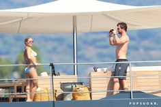 Pin for Later: Chris Hemsworth and Elsa Pataky Turn Up the Heat on Their Yacht Vacation
