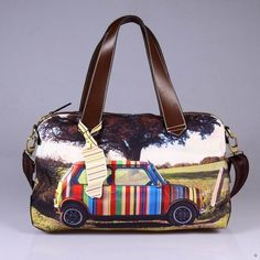 Cool Paul Smith bag:   I LOVE THIS!