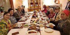 16.10.2019: Silaturahmi dan Jamuan Makan Malam bersama rombongan Ibu Kartika Affandi di Wisma Duta RI Table Settings, Table Top Decorations, Place Settings, Dinner Table Settings, Setting Table
