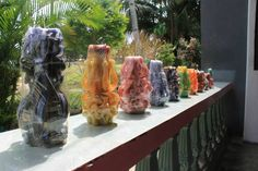 Carved Candles For Sale