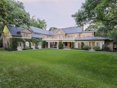 Gorgeous Dallas Georgian Faces Lake, Backs Up on Strip Mall - House of the Day - Curbed National