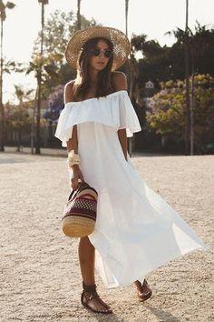 *** Anine Bing Paros Off Shoulder Dress - S