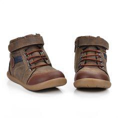 ULKNN fiúk cipő gyerekeknek fiúk cipők gyermekek sík valódi bőr baba csecsemő alkalmi sport futás patchwork lélegző sneaker Baba, Hiking Boots, Sport, Fashion, Scrappy Quilts, Moda, Deporte, Fashion Styles, Sports