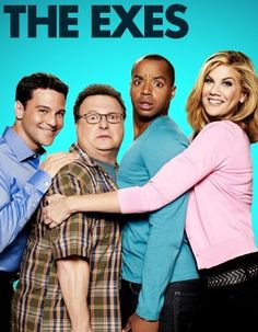 The Exes. Really silly and loads of fun. I watch on Hulu, but it comes from TVLand