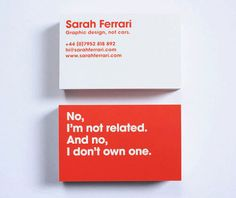 You should always use both sides of your business cards.