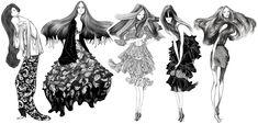 Laura Laine - fashion illistrations