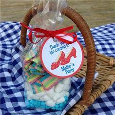 Wizard of Oz Favor Sweet bags