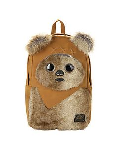 No Ewoks were harmed in the making of this backpack // Loungefly Star Wars Ewok Backpack