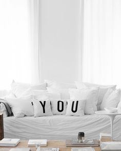 you, you, you! find the pillows online: typehype.com