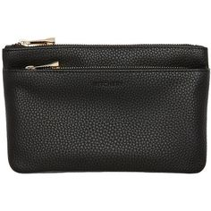 Witchery Kitty Coin Purse (30 AUD) ❤ liked on Polyvore featuring bags, wallets, double zip wallet, double zipper wallet, coin purse wallets, change purse wallet and coin pouch wallet