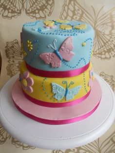 cakes | Butterfly Birthday Cake | Dusty Cherub, Cakes, Photography