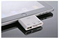 3-IN-1 IPAD CAMERA CONNECTION KIT - 3つのインターフェースが統合されたiPadカメラキット