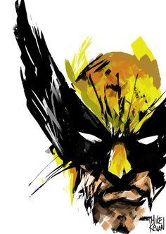 Wolverine by Mike Kevan