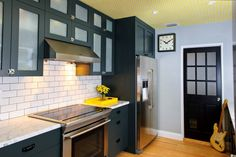 Shades of Gray #homedecor #kitchens