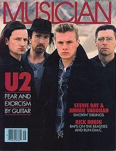 U2 Musician on May 1987.