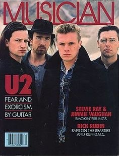 U2 Musician on May 1987.