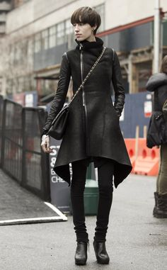 TOOMUCHTRENDS: NEW YORK FASHION WEEK STREET STYLE