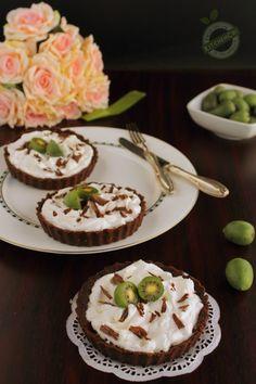 Crostatine senza cottura Panna Nergi e Cioccolato